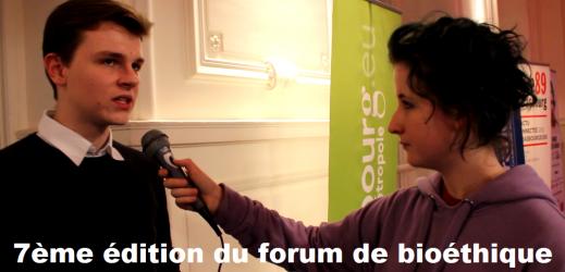 7ème édition du forum de bioéthique