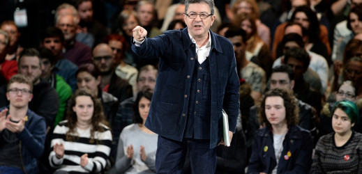 Meeting de Jean Luc Mélenchon à Rennes