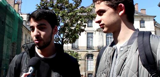 Les jeunes de Rennes s'expriment sur les présidentielles